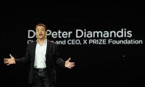 2012 CES Peter Diamandis