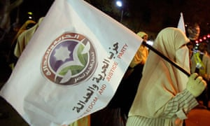 Muslim Brotherhood 'Freedom and Justice Party' flag