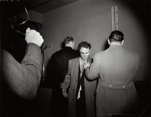 Weegee exhibition: Anthony Esposito, by Weegee