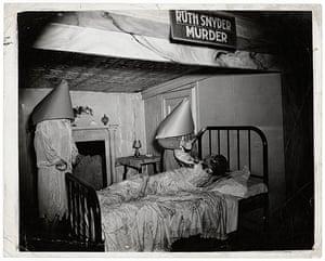 Weegee exhibition: Ruth Snyder Murder by Weegee
