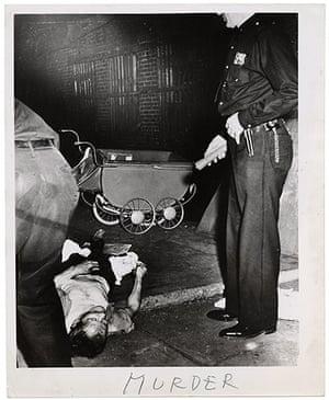Weegee exhibition: Murder by Weegee