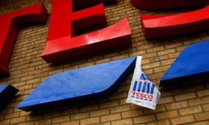 Tesco's slump is due to divine intervention, a Christian pressure group has claimed
