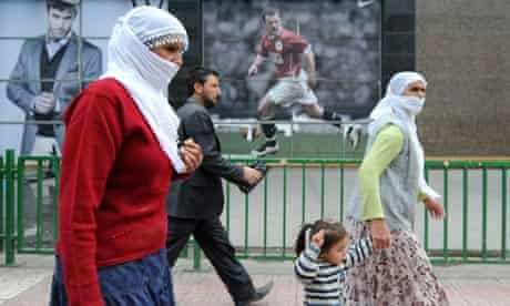 Kurdish women in Diyarbakir