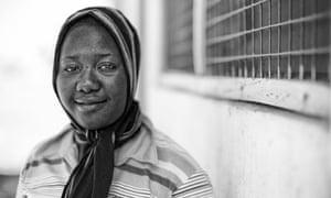 Fatahiya Yakubu, a nurse at Kpasenkpe clinic in northern Ghana