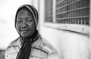 Bono visits Ghana: Fatahiya Yakubu, a 24 year-old nurse at Kpasenkpe clinic