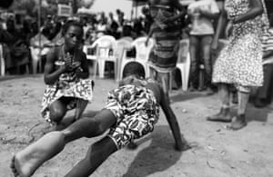 Bono visits Ghana: Villagers in Kpasenkpe