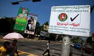 Burma election