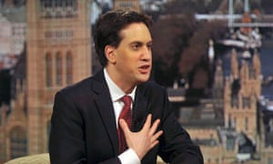 Ed Miliband on the BBC's Andrew Marr Show