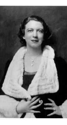 Miss Elizabeth Arden in the 1930s