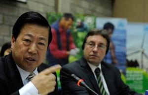 China environmental year: Chinese Environment Minster Zhou Shengxi