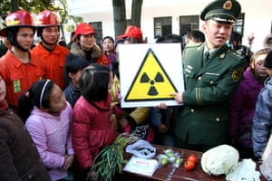 China environmental year: Chinese students learn about radiation awarenes