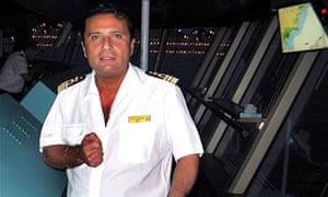The Costa Concordia's captain, Francesco Schettino