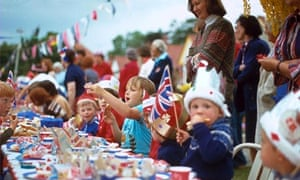 Street party for the Queen's silver jubilee in 1977
