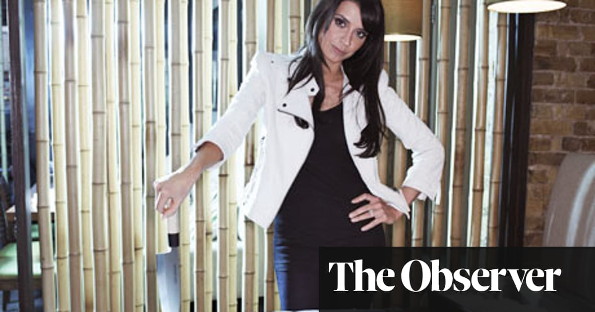 Christine Bleakley I Love Getting A Burger At The Football Christine Bleakley The Guardian