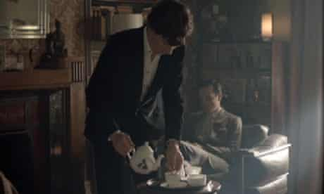 Ali Miller's tea set in Sherlock