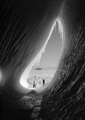 south pole expeditions: Captain Scott's ship, the Terra Nova