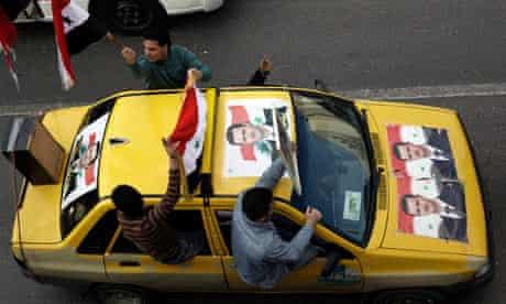 Pro-Assad demonstration