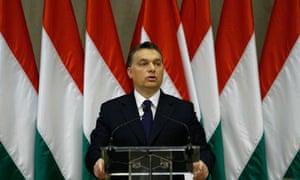 Hungary's prime minister Viktor Orbán