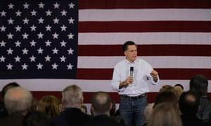 Mitt Romney in Florence South Carolina