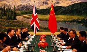 George Osborne at talks in Beijing