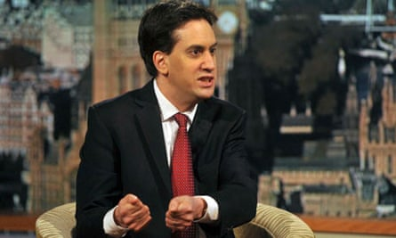 The leader of Britain's Labour Party, Ed Miliband, speaks on the BBC's Andrew Marr Show in London