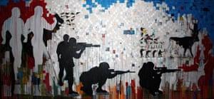 Arab Spring art : Tomb Sonata in Three Military Movements by Khaled Hafez