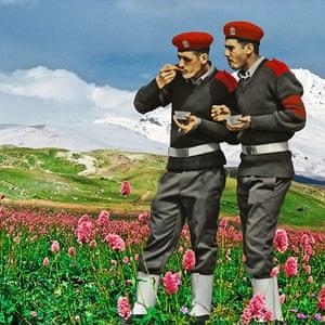 Arab Spring art : A work by photographer Nermine Hammam