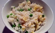 Good Food recipe egg fried rice