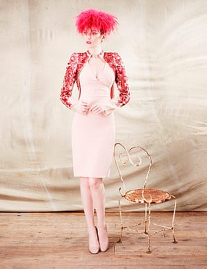 Royal Ascot dress code: Royal Ascot dress code 2012 pink feather hat
