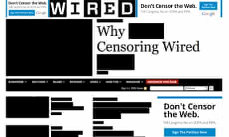 Stop Online Piracy Act - Sopa - Wired homepage