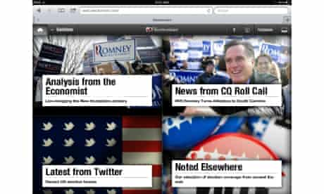 Electionism HTML5 app