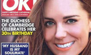 OK! magazine's Kate Middleton cover