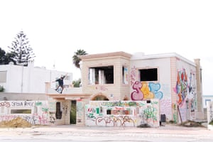 bedouins: Street art on the mansion