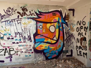 bedouins: Street art in the mansion