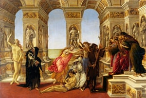 The Doors of Perception: Calumny by Botticelli