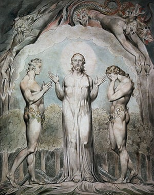 The Doors of Perception: Judgement of Adam and Eve by William Blake