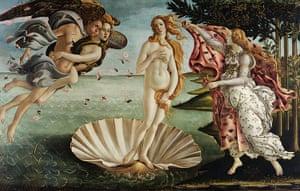 The Doors of Perception: Birth of Venus by Sandro Botticelli