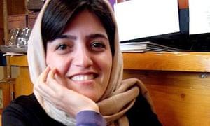 Iranian journalist Marzieh Rasouli
