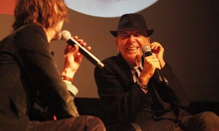 Jarvis Cocker and Leonard Cohen