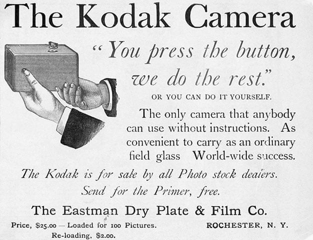 Eastman Kodak: 130 years of history – in pictures | Business | The