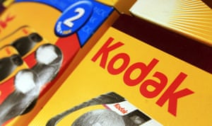 Kodak: 26 October 2010: Kodak products displayed in a store in Brunswick, Maine