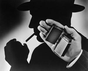 "Kodak: 18 March 1947: A tiny ""MB"" camera (no larger than its namesake, a matchbox)"