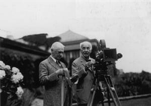 Kodak: July 1929: George Eastman and Thomas Edison