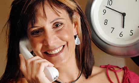Sara Mendes Da Costa, voice for the speaking clock