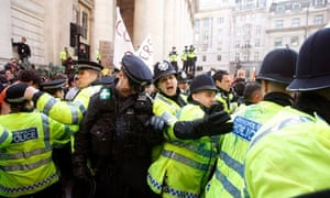 Police at G20 protest