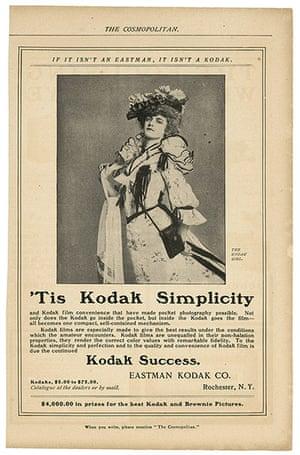 Kodak Girl: Tis Kodak Simplicity advertisement