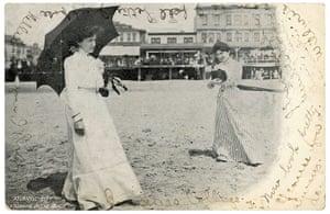 Kodak Girl:  Postcard with undivided back
