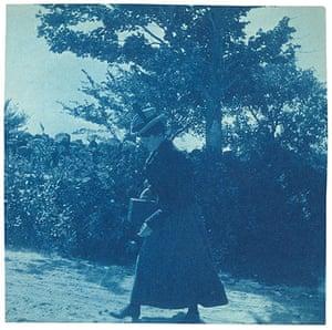 """Kodak Girl: """"Thornton"""" Cyanotype"""