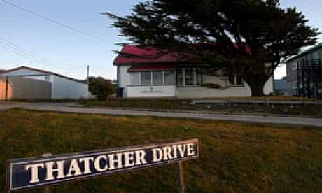 A house at Thatcher Drive, Falklands