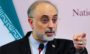 Ali Akbar Salehi has warned Iran's neighbours not to back western-led efforts to isolate Tehran